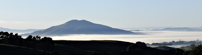Fine weather over the Otorohanga Basin