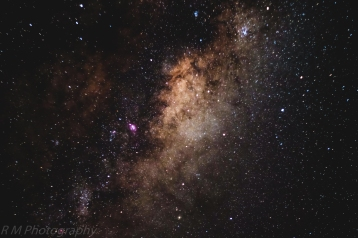 Shot with the XA2 using the XC 50-230 mm lens at f4.5 and ISO 3200. Ten images of 8 second duration, stacke din Deepsky Stacker and processed in Lightroom CC