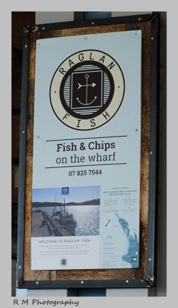 Fish and chips at the wharf